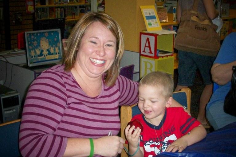 Cuddlebugs mom and son oct 2010