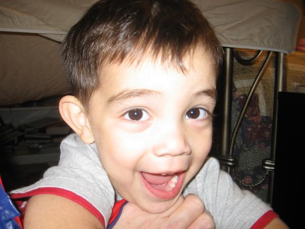 Jeremiah smiling