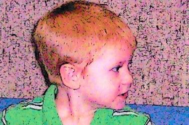 Cuddlebugs boy redhead