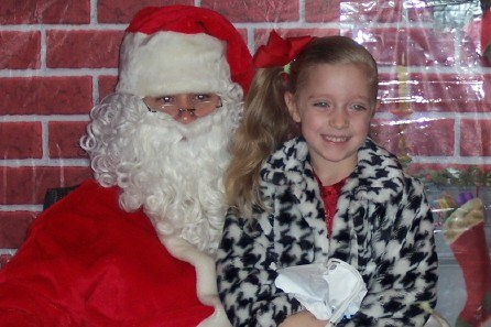 Cuddlebugs xmas girl and santa