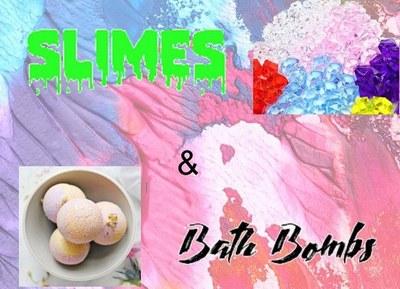 DIY Teens-Making Fishbowl Slime and Bath Bombs