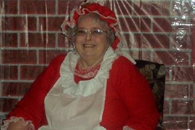 Marylynn as Mrs Santa