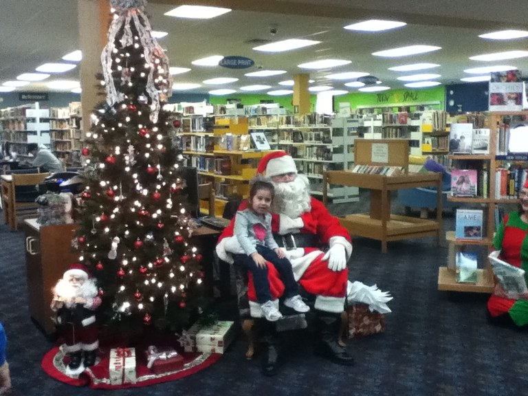 Santa and CB 2011