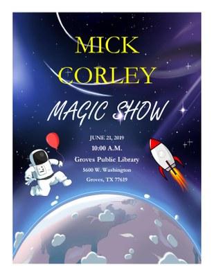 Mick Corley Magic Show